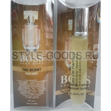 """Hugo Boss """"The Scent for woman"""", (ж), 20 мл"""