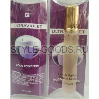 "Paco Rabanne ""Ultraviolet for women"", (ж), 20 мл"