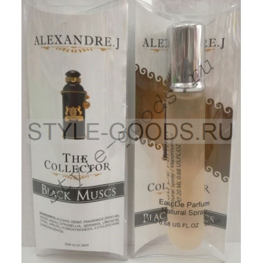 "Alexandre J. ""The Collector Black Muscs""(ж/м) 20 мл"