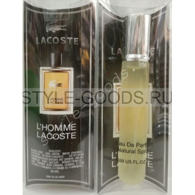 "Lacoste ""L`Homme"", (м), 20 мл"