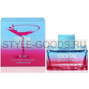 "A.Banderas ""Cocktail Seduction Blue"", 100 мл (ж)"