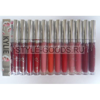 Блеск для губ Kylie Matte Liquid Lipstick, 12 шт.