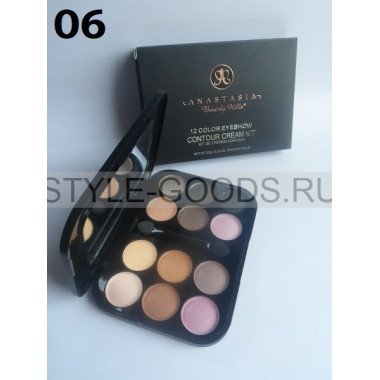 Тени для век Anastasia Contour Cream Kit 12цв, 06