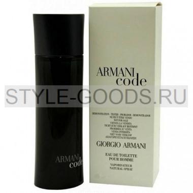 """Giorgio Armani """"Code"""", 75 мл (тестер) (м)"""