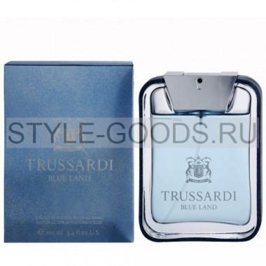"Trussardi ""Blue Land"", 100 мл (м)"