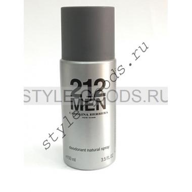 Дезодорант CH 212 Men, 150 мл (м)