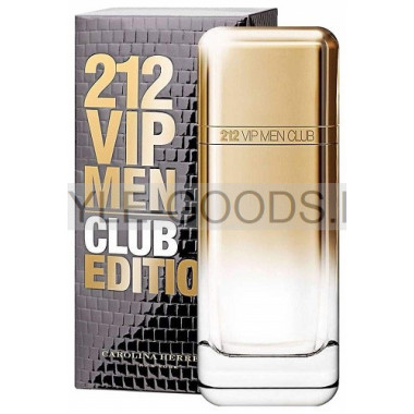 "Carolina Herrera ""212 VIP Men Club"", 100 мл (м)"