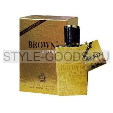 "Арабские духи ""Brown Orchid Gold Edition"", (м)"