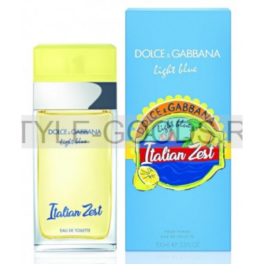 D&G Light Blue Italian Zest, 100 мл (ж)
