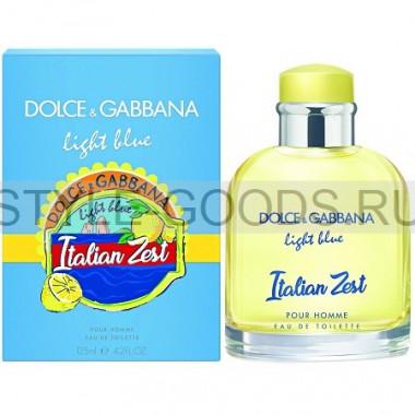 D&G Light Blue Italian Zest Pour Homme, 125 мл (м)