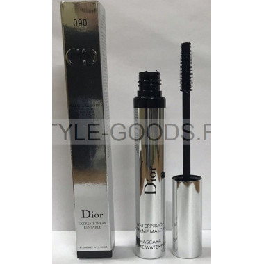 Тушь Dior Mascara Soin 090 Extreme Wear Rinsable