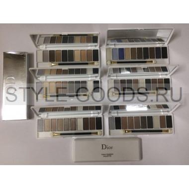 Тени для век Dior 10 цветов, 6 шт.
