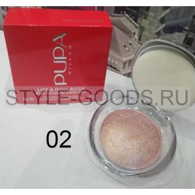Румяна запеченные Pupa Like a Doll Blush, № 02