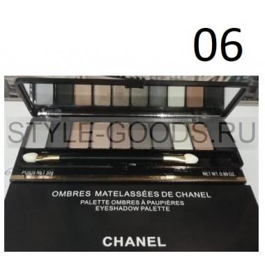 Тени для век Chanel 10 цветов, № 06