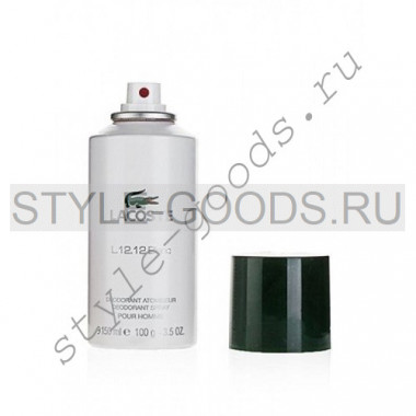 Дезодорант Lacoste L.12.12 Blanc, 150 мл (м)