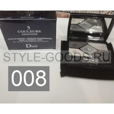 Тени для век Dior 5 Couleurs Designer,№ 008