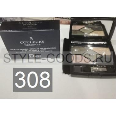 Тени для век Dior 5 Couleurs Designer,№ 308