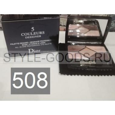 Тени для век Dior 5 Couleurs Designer,№ 508