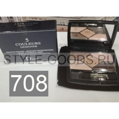 Тени для век Dior 5 Couleurs Designer,№ 708