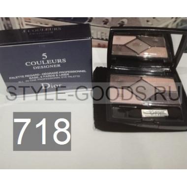Тени для век Dior 5 Couleurs Designer,№ 718
