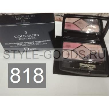 Тени для век Dior 5 Couleurs Designer,№ 818