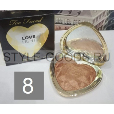 Хайлайтер Too Faced Love Light, № 8