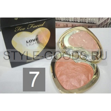 Хайлайтер Too Faced Love Light, № 7