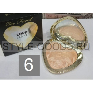 Хайлайтер Too Faced Love Light, № 6