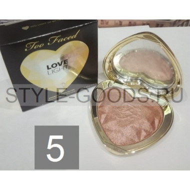 Хайлайтер Too Faced Love Light, № 5