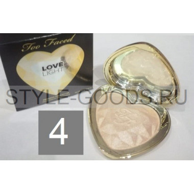 Хайлайтер Too Faced Love Light, № 4