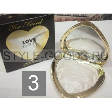 Хайлайтер Too Faced Love Light, № 3
