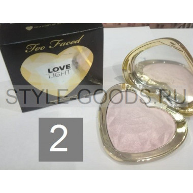 Хайлайтер Too Faced Love Light, № 2