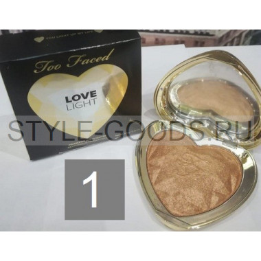 Хайлайтер Too Faced Love Light, № 1