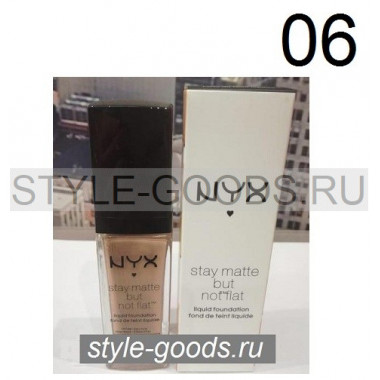 Тональный крем NYX Stay Matte but not flat, 06