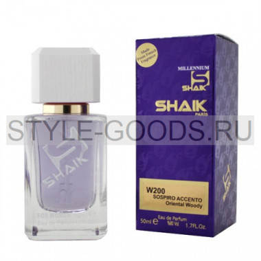Духи Shaik 200 - Sospiro Accento, 50 ml (ж)