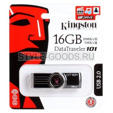 USB-флешка Kingston DataTravel 101, 16 Gb