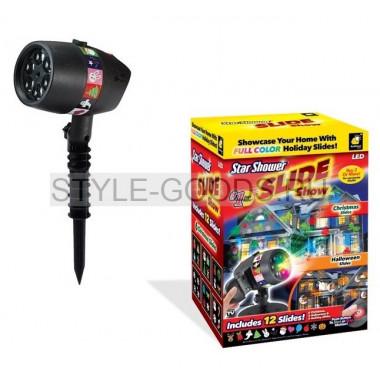 Лазерный фонарь-проектор SLIDE