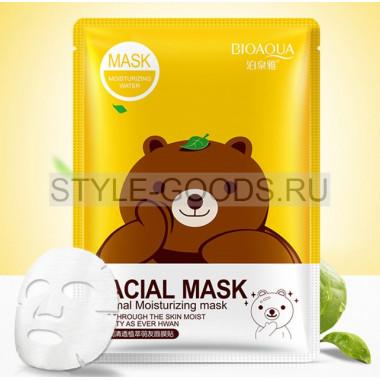 Маска для лица BIOAQUA (медведь)
