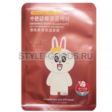 Шёлковая маска для лица Princess (заяц)