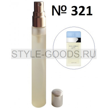 Пробник духов D&G Light Blue (321),15 ml (ж)