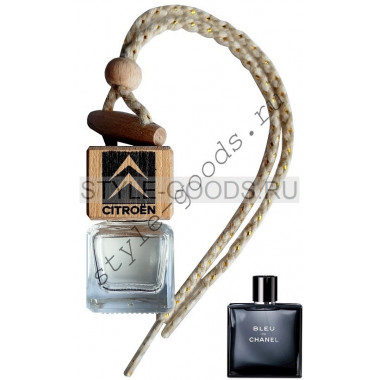 Автопарфюм Citroen Bleu de Chanel, 7 ml (м)