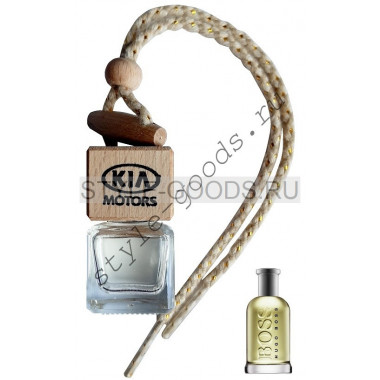 Автопарфюм KIA Boss Bottled №6, 7 ml (м)