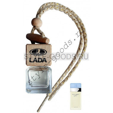 Автопарфюм Lada D&G Light Blue, 7 ml (ж)