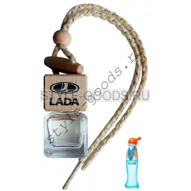 Автопарфюм Lada Moschino I Love Love, 7 ml (ж)
