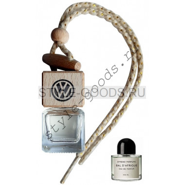 Автопарфюм Volkswagen Byredo Bal d`Afrique, 7 ml (унисекс)