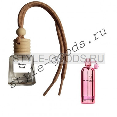 Ароматизатор в машину Roses Musk, 8 ml
