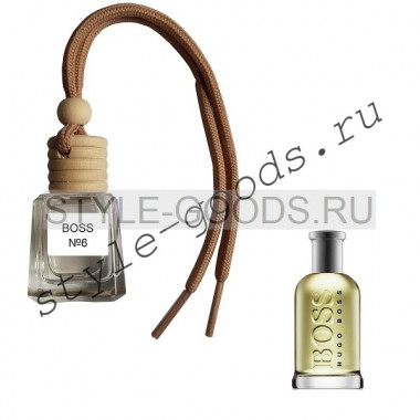 Ароматизатор в машину Boss № 6, 8 ml