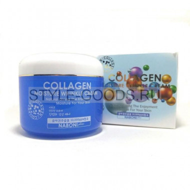 Крем Collagen Moisture Wrinkle Cream Naboni, 100 г