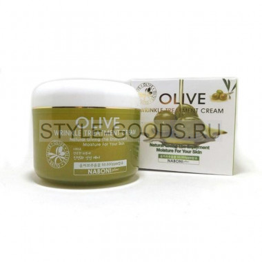 Крем Olive Wrinkle Treatment Cream Naboni, 100 г