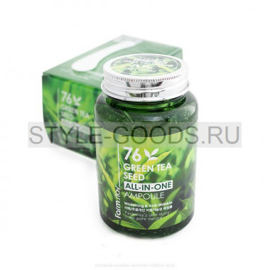 Сыворотка FarmStay Green Tea Seed All-In-One Ampoule